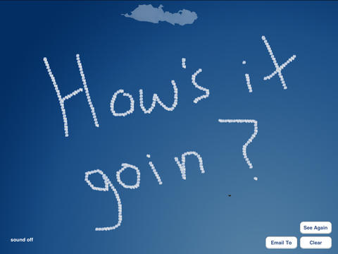 SkyWriter iPad Screenshot 3