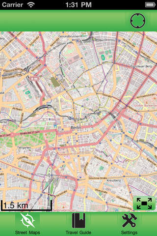 Berlin Offline Street Map