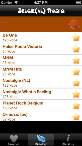 Belgie NL Radios