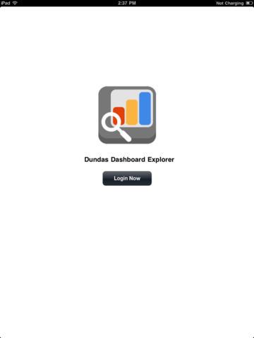 Dundas Dashboard Explorer