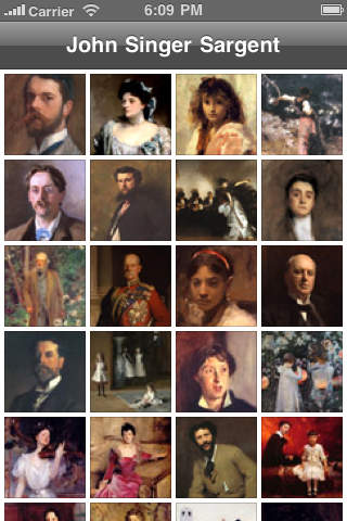 A Collection of Paintings by John Singer Sargent