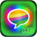 Pimp My Message(HD) - Send Color & Glow & Bling Bubble Message for iPad Free