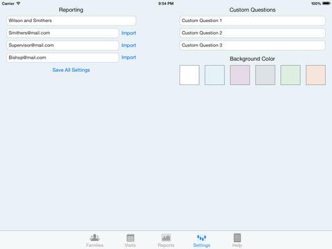 Home & Visiting Teaching for iPad iPad Screenshot 4