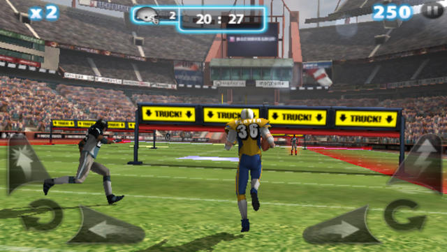 Backbreaker 2: Vengeance - iPhone Mobile Analytics and App Store Data