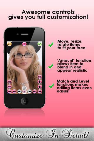 iVanity - Free App For Girls iPhone Screenshot 2