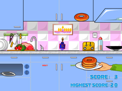Catch the Sufgania - Donut Game HD Lite iPad Screenshot 2