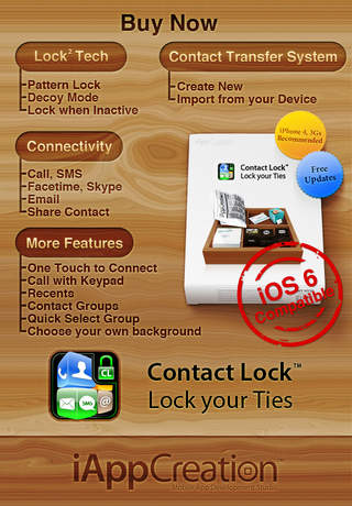 Contact Lock Free - Lock your Ties