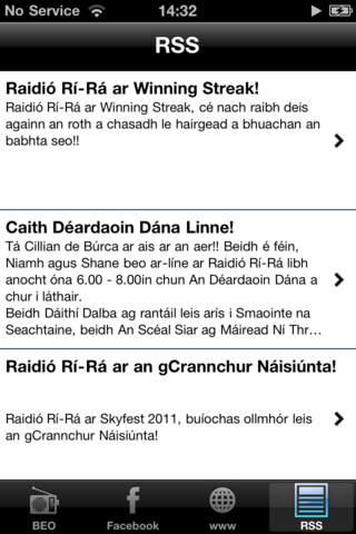 Raidió Rí-Rá iPhone Screenshot 4