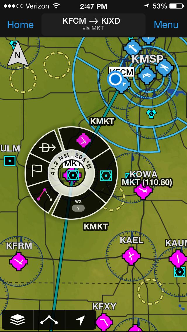 Garmin Pilot  Screenshot
