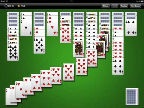 Solitaire GameBox iPad Screenshot 2