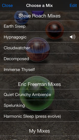 Immersion Station - Infinite Ambient Music iPhone Screenshot 3