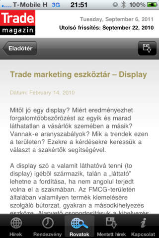 Trade Magazin screenshot 3