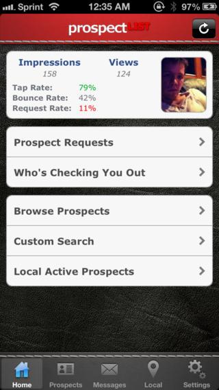 Prospect List Mobile Dating