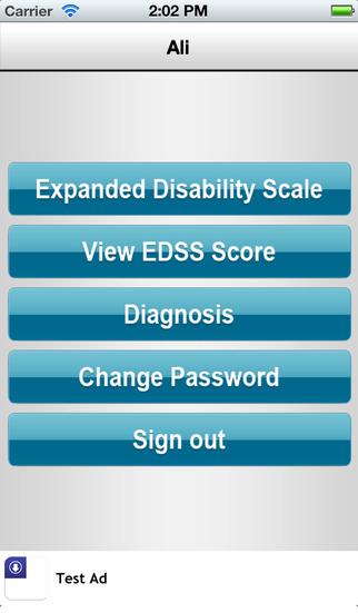 EDSS Tracker