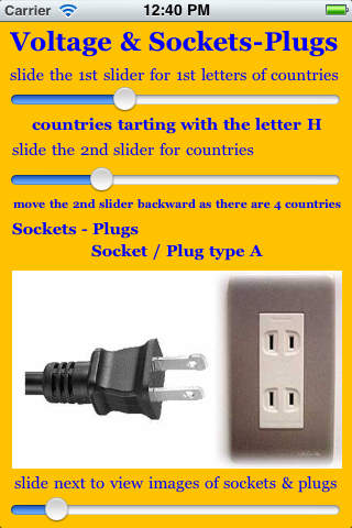 Voltage & Sockets-Plugs Around the World screenshot 4