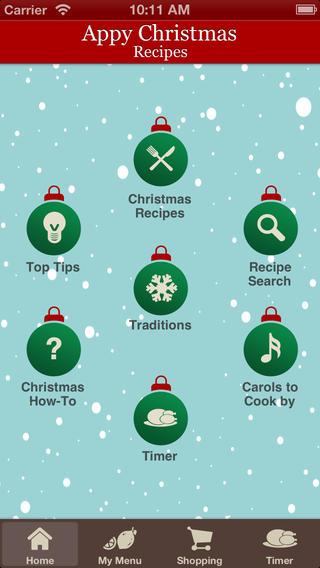 Appy Christmas Recipes