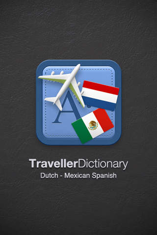 Traveller Dictionary and Phrasebook Dutch - Mexican Spanish