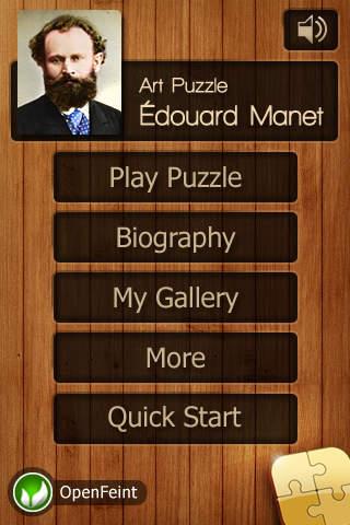 Edouard Manet Jigsaw Puzzles