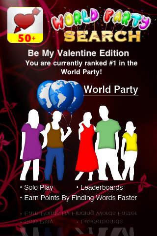 Valentine : World Party Search