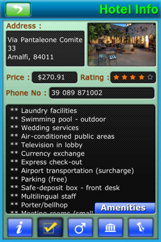 Amalfi Coast iPhone Screenshot 5