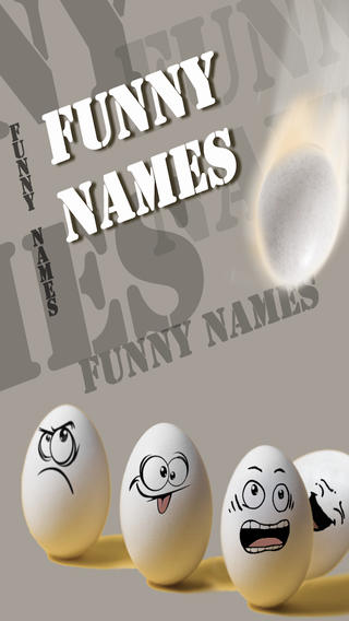 Funny Names Of Real People