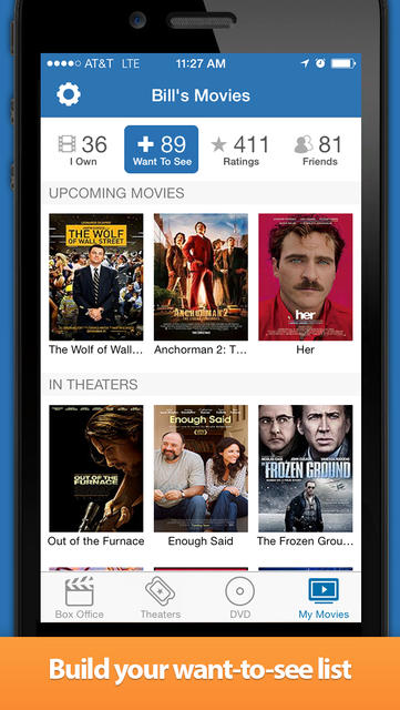 Movies by Flixster, with Rotten Tomatoes - iPhone Mobile Analytics and App Store Data