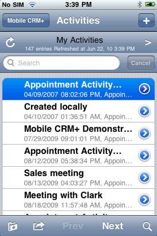 Mobile CRM+ for MS Dynamics CRM (Onpremise Intranet Deployment) Free Version