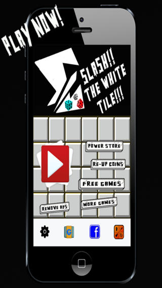 A Slash The White Tiles Game - Dont Touch The Tiny Dice Tubes