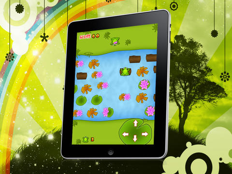 Frog Love Game HD Lite iPad Screenshot 3