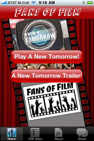 Fans of Film A New Tomorrow