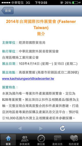 台灣國際扣件展
