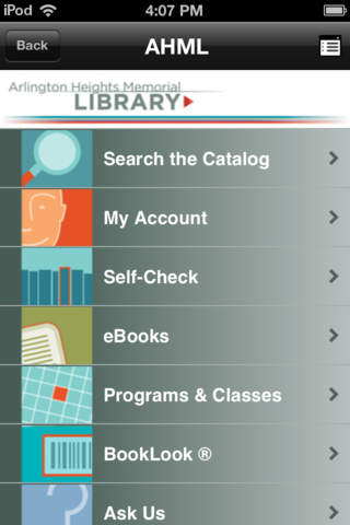 Arlington Heights Library screenshot 1