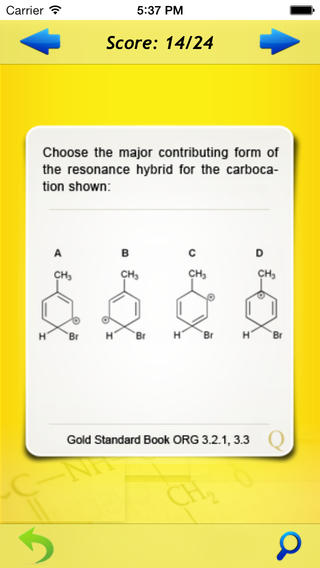 Gold Standard GAMSAT Organic Chemistry Flashcards