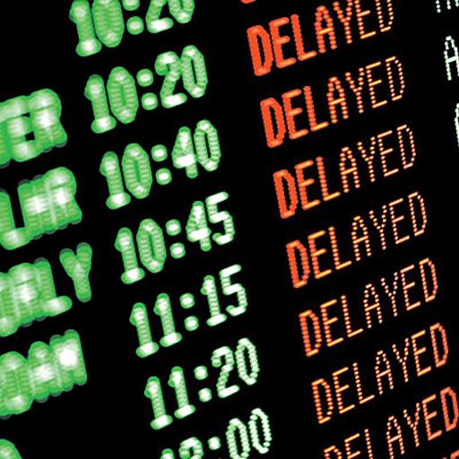 retraso del aeropuerto mundial