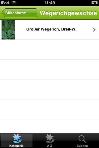 Wildblumen iPhone Screenshot 3