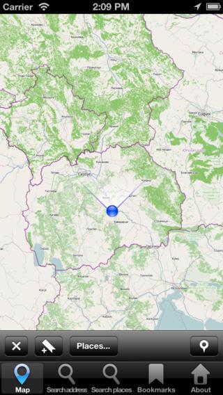 Offline Map Macedonia: City Navigator Maps
