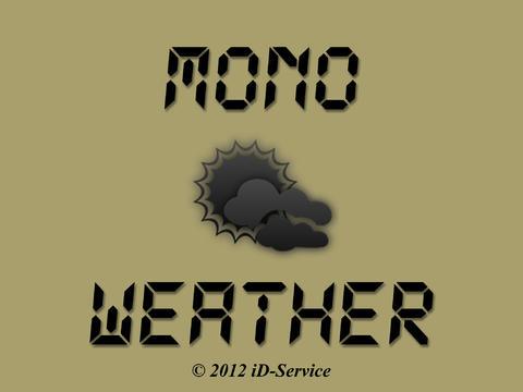Mono Weather