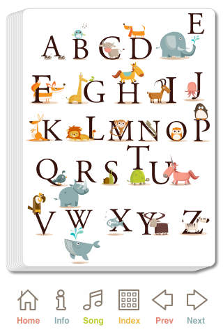 Alphabet Zoop - Talking ABC Flashcards with Animal Sounds & Facts iPhone Screenshot 1
