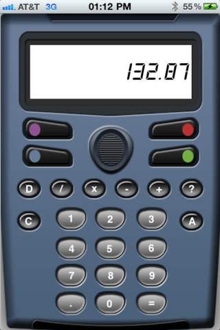 Dictation Calculator iPhone Screenshot 3