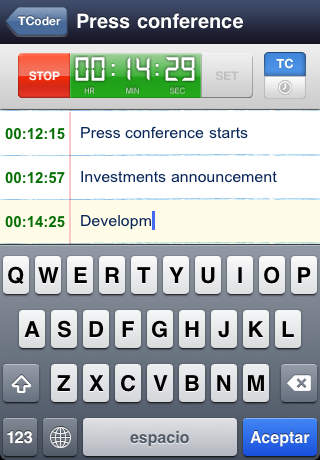 TCoder - Professional Logs iPhone Screenshot 4