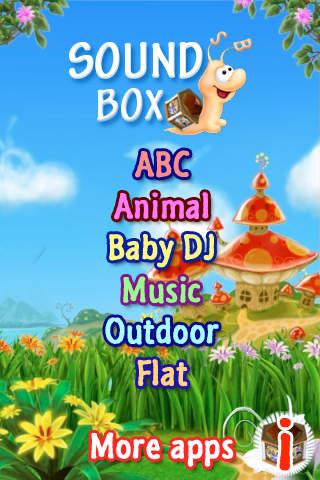 SoundBox - Baby DJ iPhone Screenshot 2