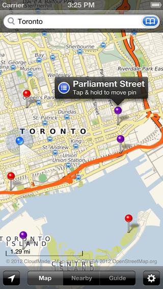Smart Maps - Toronto