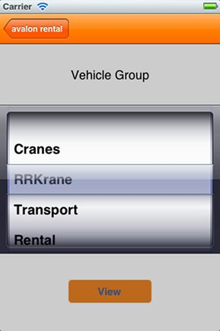 avalon crane software