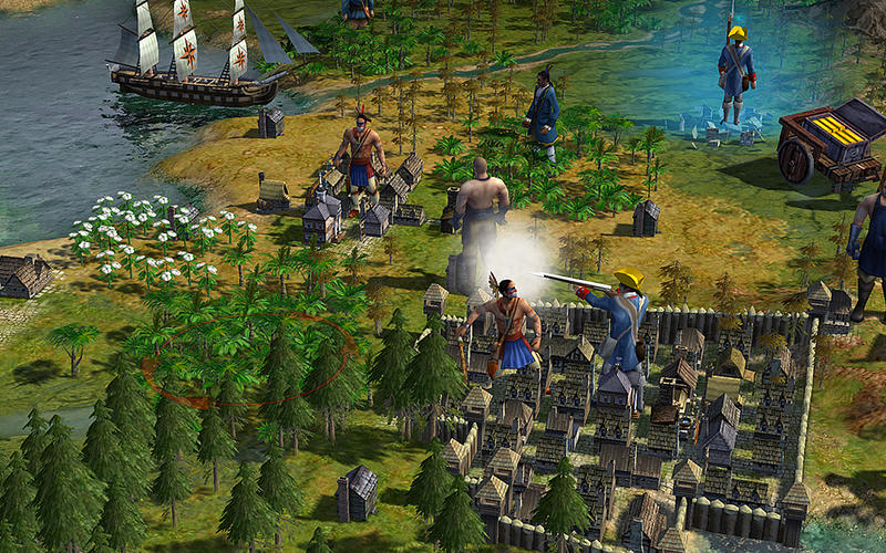 Screenshot #4 for Sid Meier's Civilization® IV: Colonization