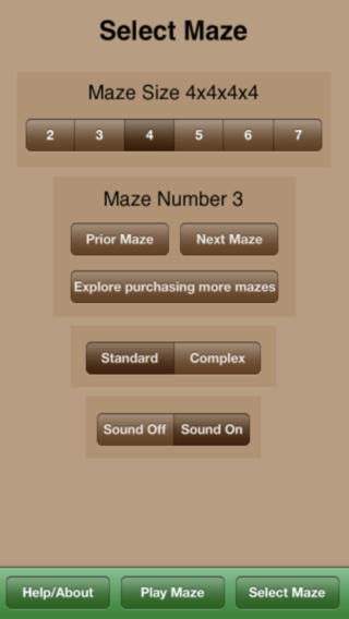 Maze Tesseract Lite iPhone Screenshot 5