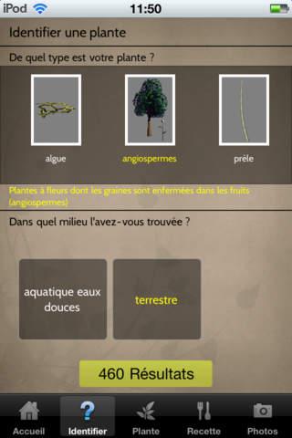 Des Fleurs et des Plantes for iPhone screenshot 2