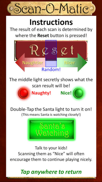Santa's Naughty or Nice Scan-O-Matic Free - iPhone Mobile Analytics and App Store Data
