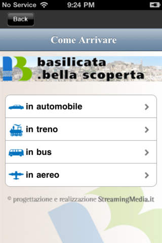 APT Basilicata iPhone Screenshot 5