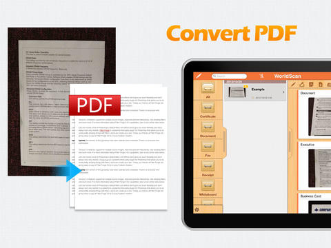 WorldScan HD - Scan Documents & Share PDF Screenshots