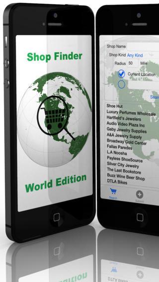 Shop Finder World Edition